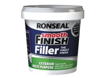Smooth Finish Exterior Multipurpose Ready Mix Filler Tub 1.2kg